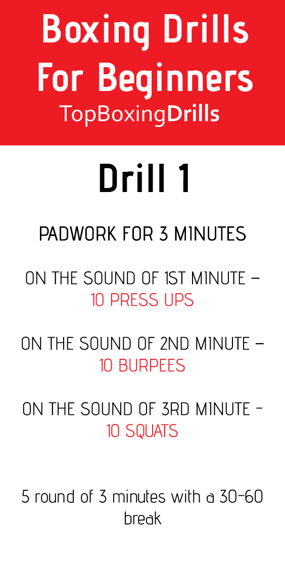 boxing drills for beginners
